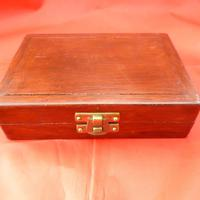 Mahogany Cased Brass Scale Weights (2 of 2)