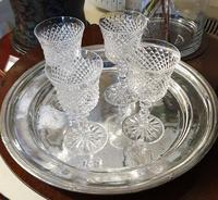 Set of Four Large Waterford Wine Goblets (3 of 8)
