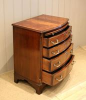 Mahogany Bow Front Chest of Drawers c.1920 (6 of 11)