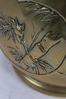 Antique Arts & Crafts Brass Planter / Jardinière (7 of 13)