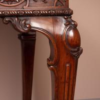Superb Quality Mahogany Chippendale Design Writing Table (8 of 23)