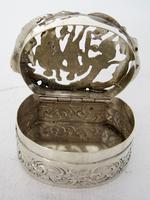 Edwardian William Comyns Silver Jewellery or Pot Pourri Box (4 of 6)
