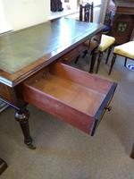 Early Victorian Three Drawer Writing Table (2 of 5)