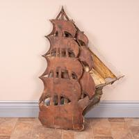 Carved Wooden Galleon Model (9 of 9)