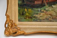 Antique Italian Landscape Oil Painting by Tardini (8 of 10)
