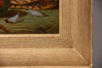"""Oil Painting Pair by Charles Thomas Bale """"Fruit and Game Larder Scenes"""" (5 of 10)"""