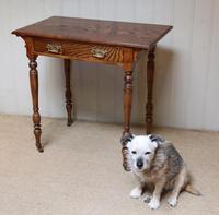 Late 19th Century Ash Side Table (6 of 10)