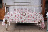 Beautiful Victorian King Size Half Tester Bed (3 of 11)