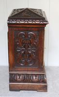 Solid Carved Oak Bracket Clock (8 of 11)