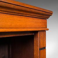 Antique Set Of Bookshelves, English, Walnut, Open Bookcase, Victorian, C.1880 (8 of 10)