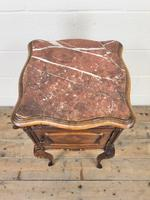 Antique French Marble Top Side Cupboard (2 of 9)