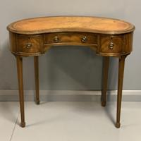 Edwardian Kidney Shape Dressing Table