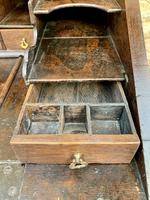 18th Century Georgian Oak Crossbanded Bureau (10 of 22)