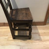 1680's Oak Pegged Chair (14 of 15)