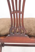 Pair of Antique Georgian Mahogany Side Chairs (4 of 13)