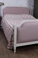 Pretty in Pink Newly Upholstered French King-size Bed (8 of 8)