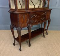 Carved Mahogany Display Cabinet by Warings (14 of 19)