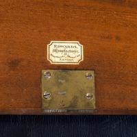 Superb William IV Brass Inlaid Kingwood Writing Box by Edwards (9 of 17)