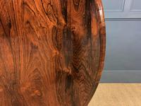 Victorian Round Rosewood Loo Table (9 of 17)