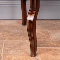 Edwardian Inlaid Rosewood Drop Leaf Occasional Table (23 of 23)