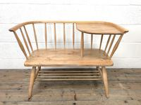 Mid Century Hall Bench or Telephone Table (3 of 13)