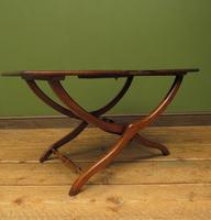 Antique Georgian Coaching Table, Regency Antique Occasional Fold Away Table (13 of 20)