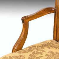 Most Elegant Set of Eight (6+2) Early 20th Century Chippendale Style Mahogany Framed Chairs (3 of 11)