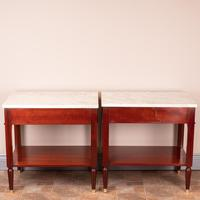 Pair of French Marble Topped Tables (12 of 14)