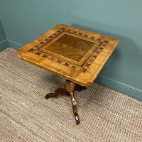 Stunning Victorian Walnut Antique Sorrento Table (5 of 8)