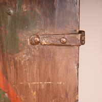 19th Century Spanish Painted 2 Door Cupboard (3 of 21)