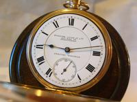Antique Pocket Watch 1903 Special Waltham 10ct Rose Gold Filled Fwo (4 of 12)