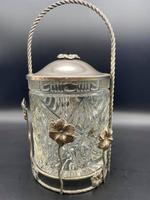 Edwardian Biscuit Barrel (3 of 7)