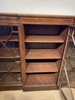 Edwardian Breakfront Bookcase (13 of 13)