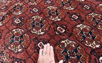 Antique Tekke Turkman rug 190x137cm (6 of 6)