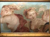 Renaissance Old Master Late 17th Century Painting The Three Graces (26 of 34)