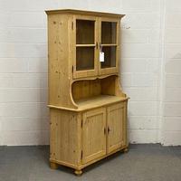 Large Antique Pine Dresser (3 of 5)