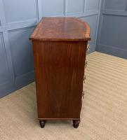 Regency Inlaid Mahogany Chest of Drawers (3 of 18)