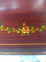 Pair of Edwardian Glazed Mahogany Display Cabinet with 2 Shelves (8 of 8)