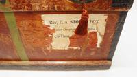 WW1 Era Marshall Campaign Chest / Trunk, Labels & Provenance (6 of 23)