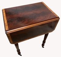 Pair of Superb Flame Mahogany Victorian Bedside Tables (7 of 8)