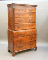 Rare George III Tallboy Chest of Drawers (15 of 15)