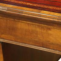 Walnut Pedestal Desk by Waring and Gillow (14 of 18)
