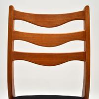 Set of 8 Danish Vintage Teak Dining Chairs by Arne Wahl Iversen (4 of 10)
