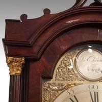 Antique Mahogany Longcase Clock (10100) (11 of 12)