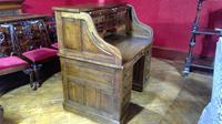 Oak Roll-top Desk (5 of 6)