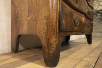 18th Century Italian Piemonte Walnut Serpentine Bureau (7 of 14)