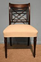 Elegant Single Regency Period Mahogany Side Chair (2 of 7)