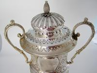 Impressive Late Victorian Campana Shaped Silver Trophy Cup (2 of 8)