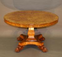 Regency Burr Elm Centre Table (6 of 6)