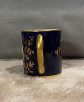 Miniature Coalport Hand Painted & Guilded Loving Cup (2 of 6)